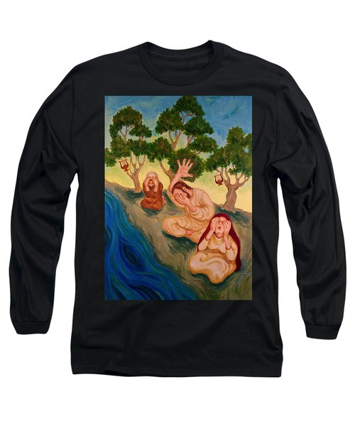 By The Rivers Of Babylon - Psalm 137 Long Sleeve T-Shirt