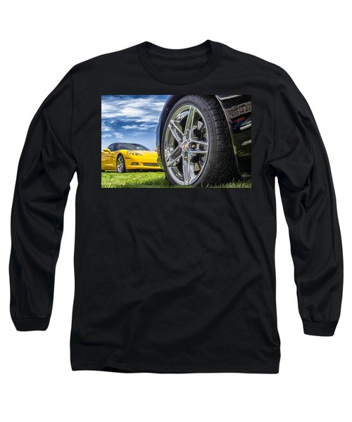 C Sixes Long Sleeve T-Shirt by Gary Warnimont