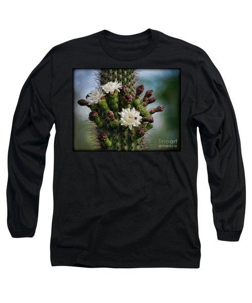 Cacti Bouquet  Long Sleeve T-Shirt