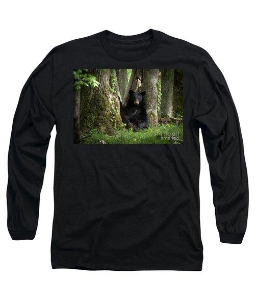 Cades Cove Bear Long Sleeve T-Shirt