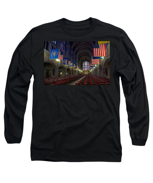 Cadet Chapel At West Point Long Sleeve T-Shirt
