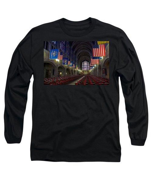 Cadet Chapel At West Point Long Sleeve T-Shirt