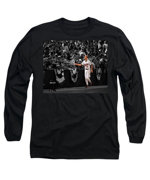 Cal Ripken Long Sleeve T-Shirt by Brian Reaves