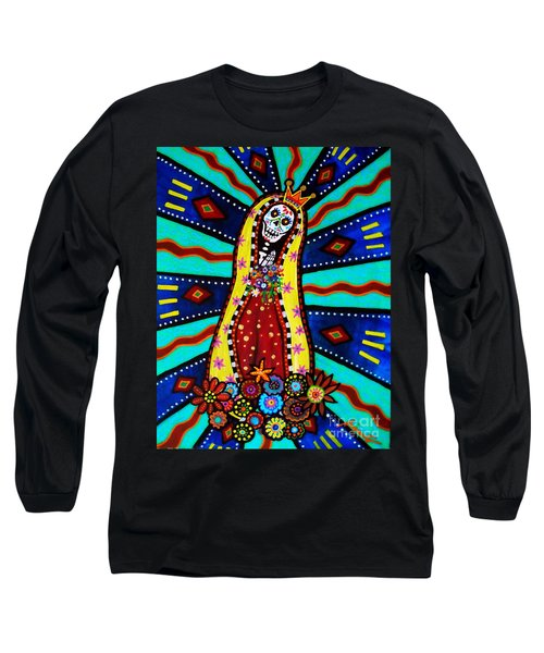 Calavera Virgen Long Sleeve T-Shirt