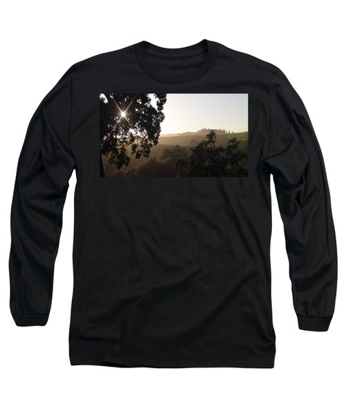 Long Sleeve T-Shirt featuring the photograph Cali Sun Set by Shawn Marlow