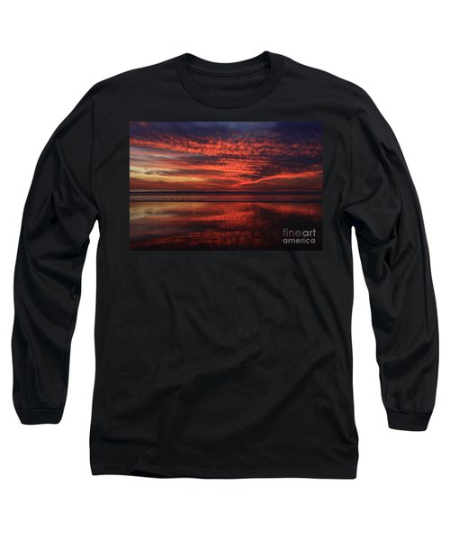 Cardiff Afterglow  Long Sleeve T-Shirt