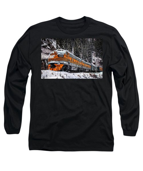 California Zephyr Long Sleeve T-Shirt by Ken Smith