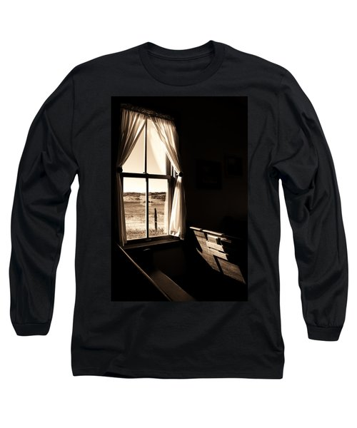 Long Sleeve T-Shirt featuring the photograph Call To Worship by Jim Garrison