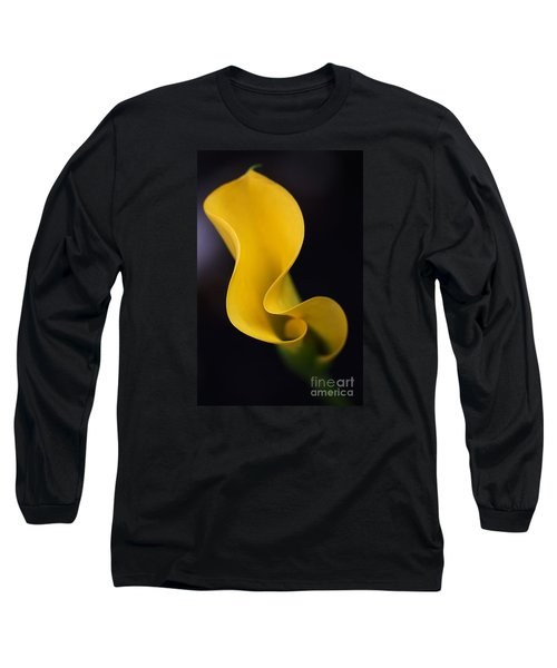 Long Sleeve T-Shirt featuring the photograph Calla Lily by Joy Watson