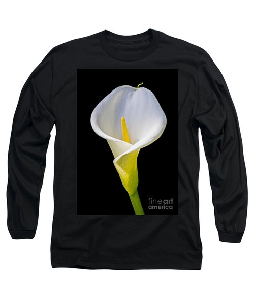 Long Sleeve T-Shirt featuring the photograph Calla Lily by Kate Brown