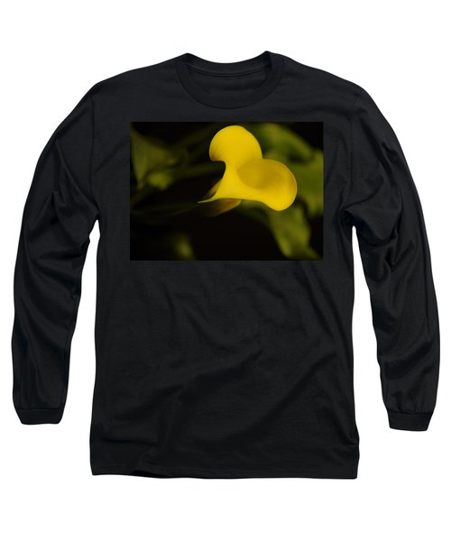 Calla Lily Yellow IIi Long Sleeve T-Shirt