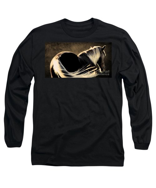 Calm Awareness 1 Vignette Long Sleeve T-Shirt