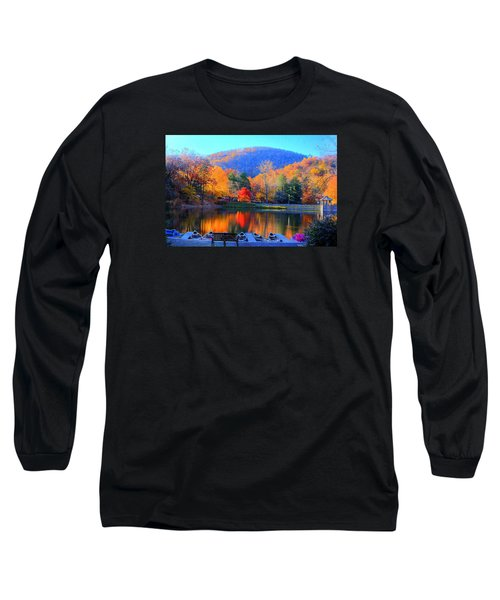 Calm Waters In The Mountains Long Sleeve T-Shirt