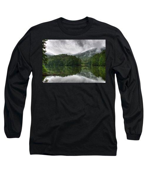 Calm Waters Long Sleeve T-Shirt by Rebecca Hiatt