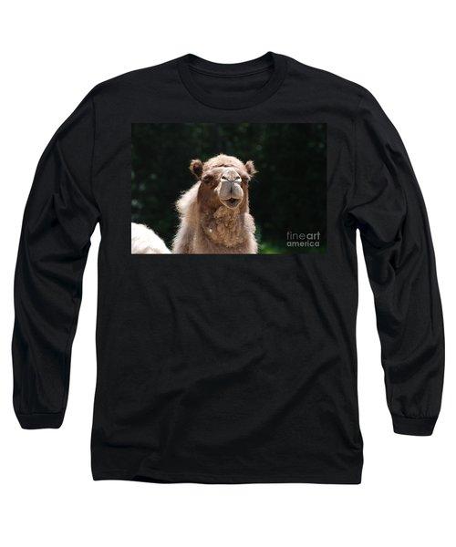 Camel Long Sleeve T-Shirt by DejaVu Designs