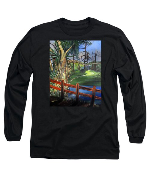 Camino Real Park Long Sleeve T-Shirt by Mary Ellen Frazee