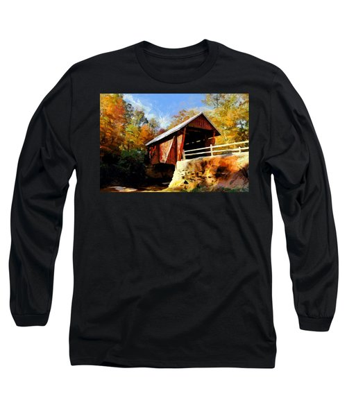 Campbell's Covered Bridge Long Sleeve T-Shirt