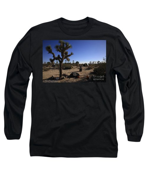 Camping In The Desert Long Sleeve T-Shirt