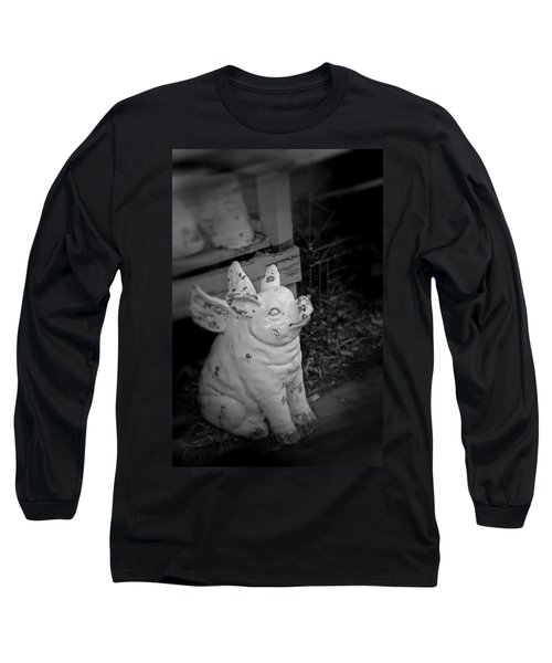 Can A Pig Fly? Long Sleeve T-Shirt