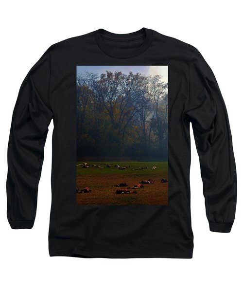 Can You Find The Survivor  Long Sleeve T-Shirt