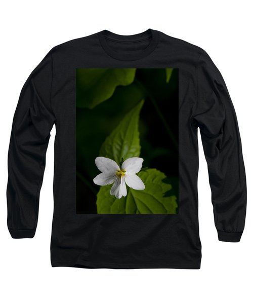 Canada Violet Long Sleeve T-Shirt by Melinda Fawver