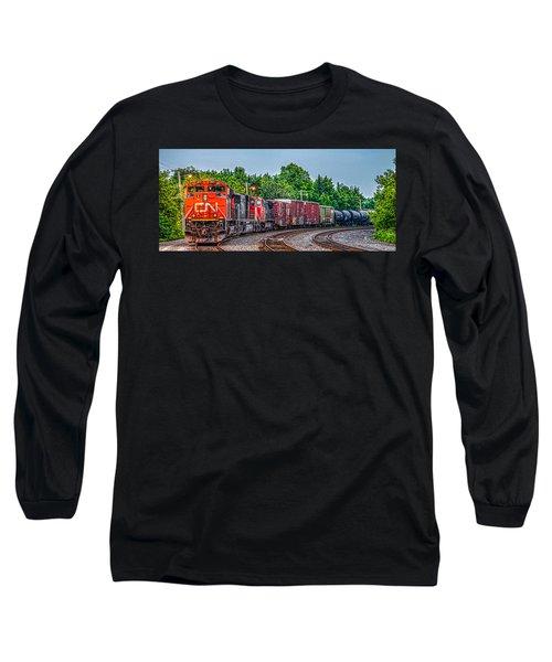 Canadian National Long Sleeve T-Shirt
