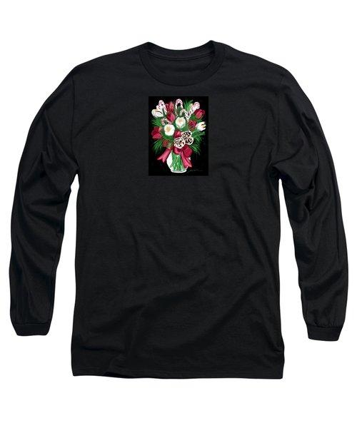 Candy Cane Bouquet Long Sleeve T-Shirt