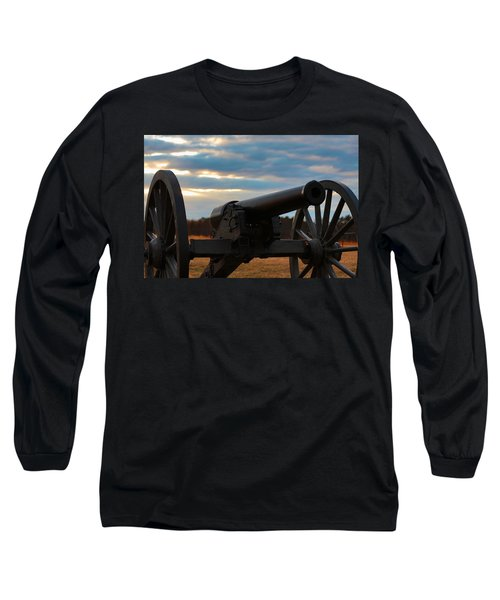 Cannon Of Manassas Battlefield Long Sleeve T-Shirt