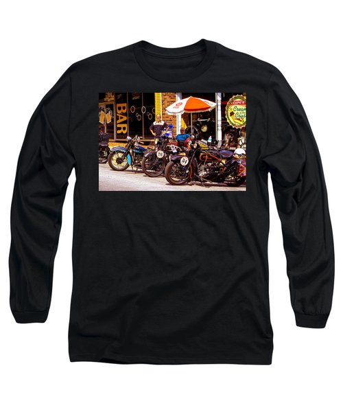 Cannonball Motorcycle Colors Long Sleeve T-Shirt