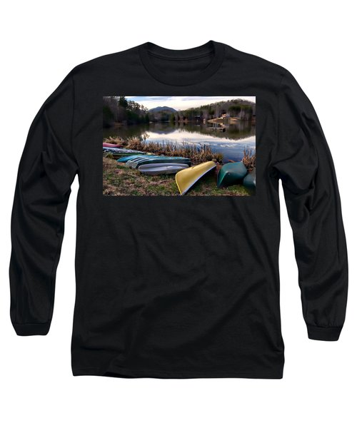 Canoes In Nc Long Sleeve T-Shirt