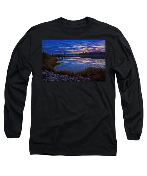 Cape Charles Sunrise Long Sleeve T-Shirt