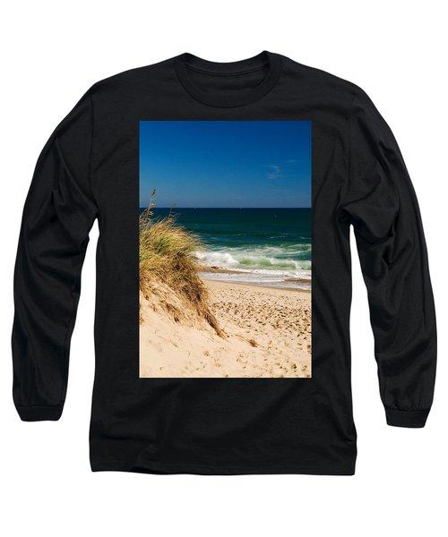 Cape Cod Massachusetts Beach Long Sleeve T-Shirt