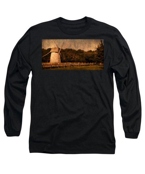 Cape Cod Windmill Long Sleeve T-Shirt