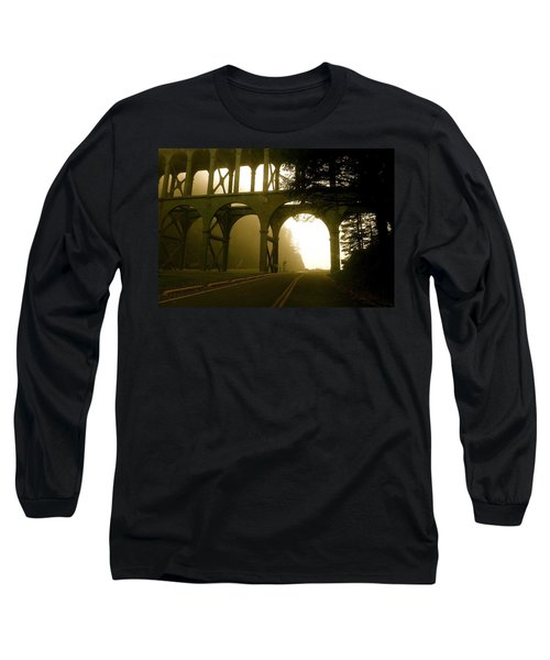 Cape Creek Bridge Long Sleeve T-Shirt
