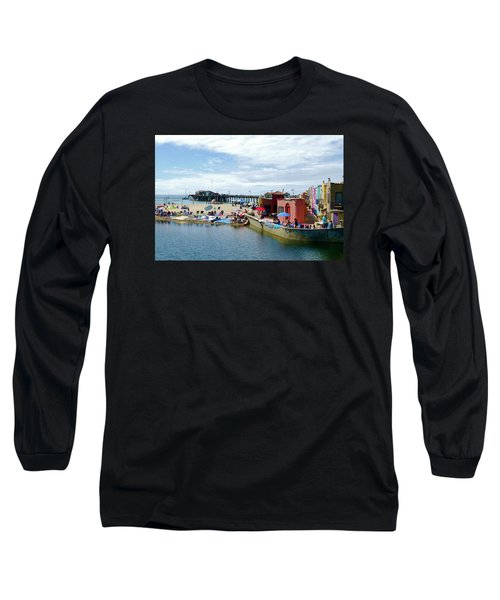 Capitola Begonia Festival Weekend Long Sleeve T-Shirt by Amelia Racca