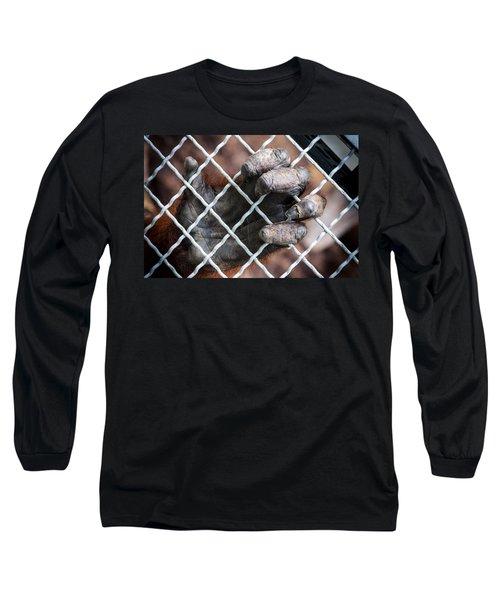 Long Sleeve T-Shirt featuring the photograph Captive Heart by Sennie Pierson