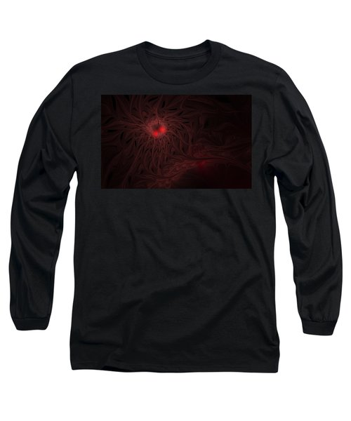 Long Sleeve T-Shirt featuring the digital art Captive Soul by GJ Blackman