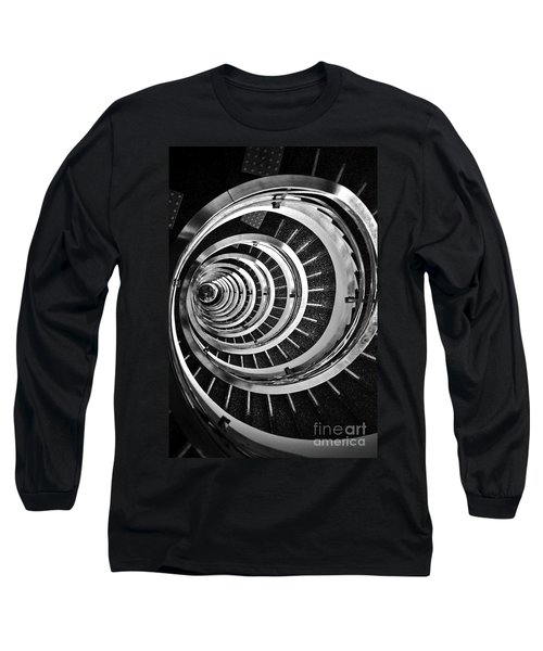 Time Tunnel Spiral Staircase In Sao Paulo Brazil Long Sleeve T-Shirt