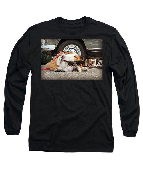 Carmel Cool Dog Long Sleeve T-Shirt