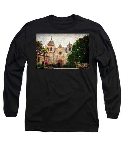 Carmel Mission Long Sleeve T-Shirt by RicardMN Photography