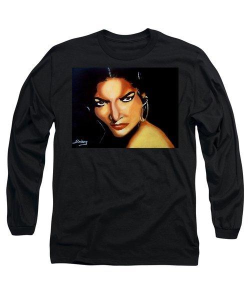 Carmen - Original Painting  Long Sleeve T-Shirt