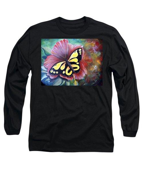 Carnival Butterfly Long Sleeve T-Shirt