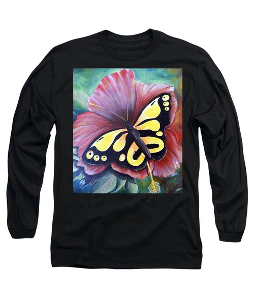 Carnival Butterfly Long Sleeve T-Shirt