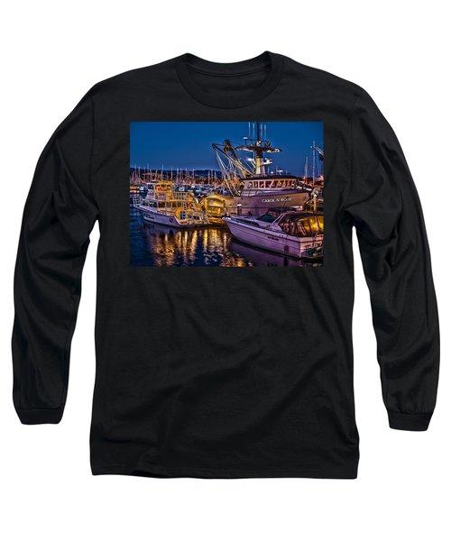 Carol N Rose Long Sleeve T-Shirt by Richard J Cassato