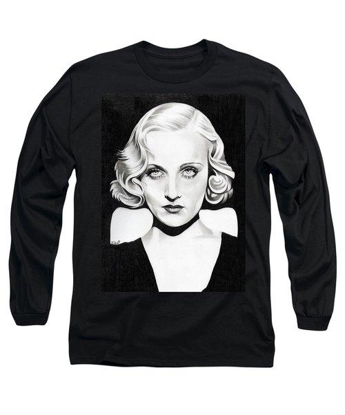 Carole Lombard Long Sleeve T-Shirt