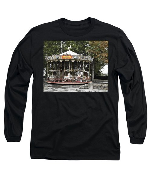 Long Sleeve T-Shirt featuring the photograph Carousel by Victoria Harrington