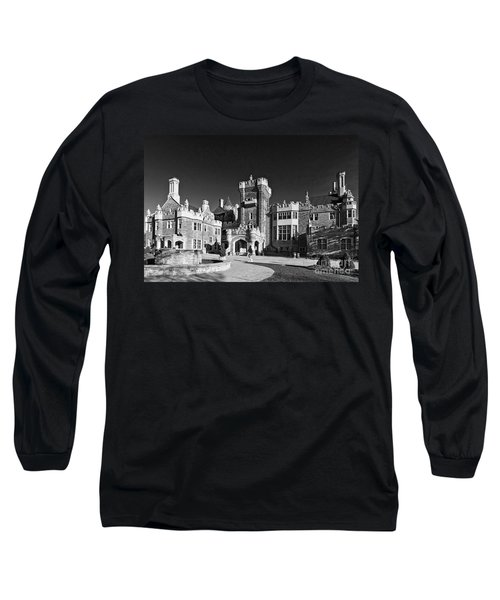Casa Loma In Toronto In Black And White Long Sleeve T-Shirt