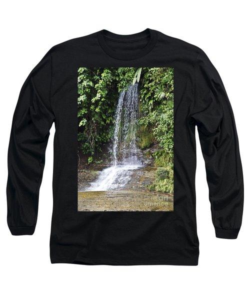 Cascada Pequena Long Sleeve T-Shirt by Kathy McClure