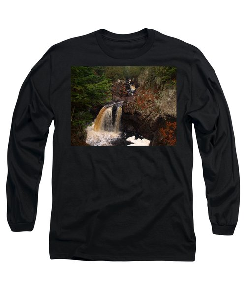 Cascade River Long Sleeve T-Shirt by James Peterson