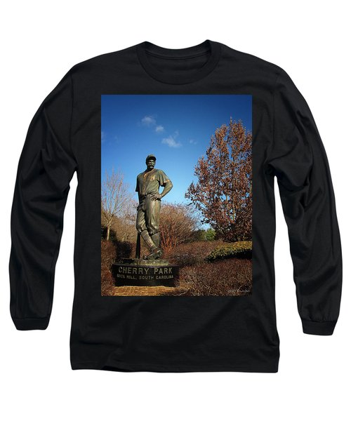 Casey Waits For Spring Long Sleeve T-Shirt by Greg Simmons